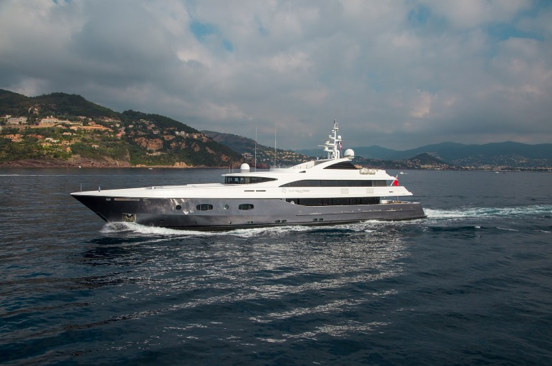 "SOLD: 55.40m (181'9"") M/Y TURQUOISE"
