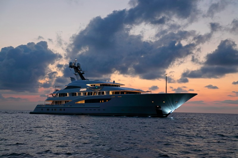 NEW CENTRAL AGENCY  M/Y ARETI