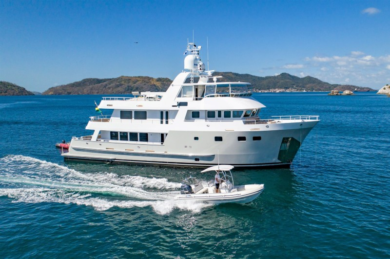 NEW CENTRAL LISTING: M/Y SEA FOREVER